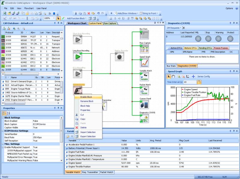 CANCapture Software & Unlocked ECOM Kit | CANCapture